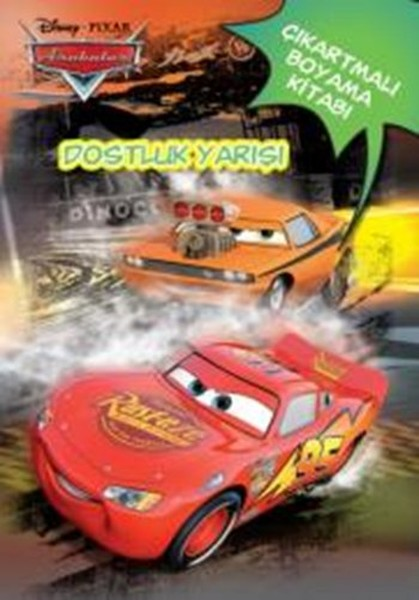 Disney Arabalar Dostluk Yarışı Çıkartmalı Boyama Kitabı.pdf