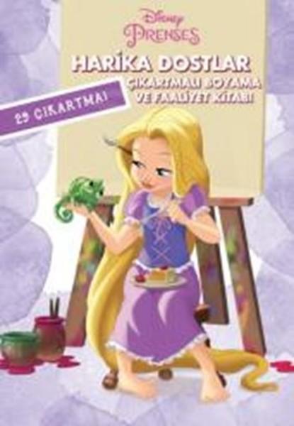 Disney Prenses Harika Dostlar çıkartmalı Boyama Ve Faaliyet Kitabı