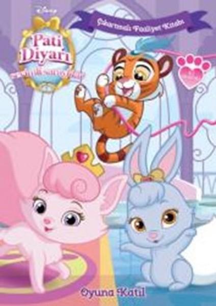 Disney Sevimli Saraylılar Oyuna Katıl Çıkartmalı Faaliyet Kitabı.pdf