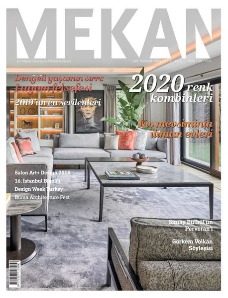 Artı Mekan Dekorasyon ve Mimarlık Dergisi - Kasım/Aralık 2019.pdf