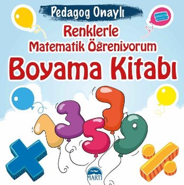 Renklerle Matematik öğreniyorum Boyama Kitabı Kitap Müzik Dvd