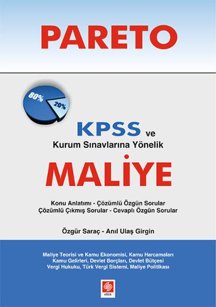 Pareto KPSS ve Kurum Sınavlarına Yönelik Maliye.pdf