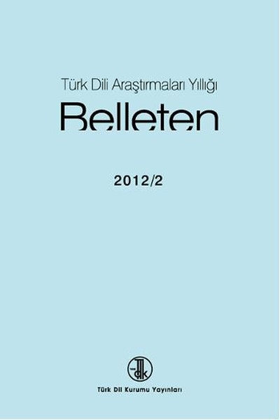 Türk Dili Araştırmaları Yıllığı-Belleten 2012/2.pdf
