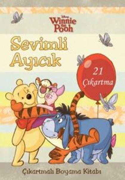 Sevimli Ayıcık çıkartmalı Boyama Kitabı Disney Winnie The Pooh