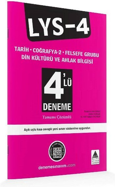 LYS 4 4'lü Deneme Tarih Coğrafya-2 Felsefe Grubu Din Kültürü ve Ahlak Bilgisi.pdf