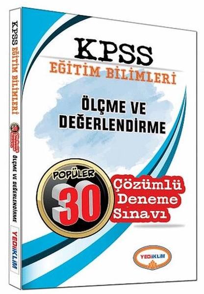 KPSS Eğitim Bilimleri Ölçme ve Değerlendirme Çözümlü 30 Deneme Sınavı 2017.pdf