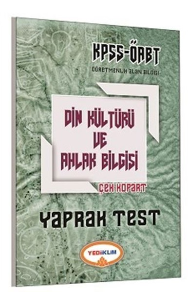 ÖABT KPSS Din Kültür ve Ahlak Bilgisi Yaprak Test Çek Kopart 2017.pdf