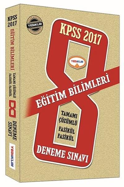 KPSS Eğitim Bilimlerine Çözümlü 8 Fasikül Deneme 2017.pdf