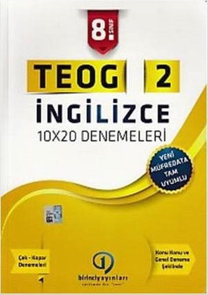8. Sınıf TEOG 2 İngilizce.pdf