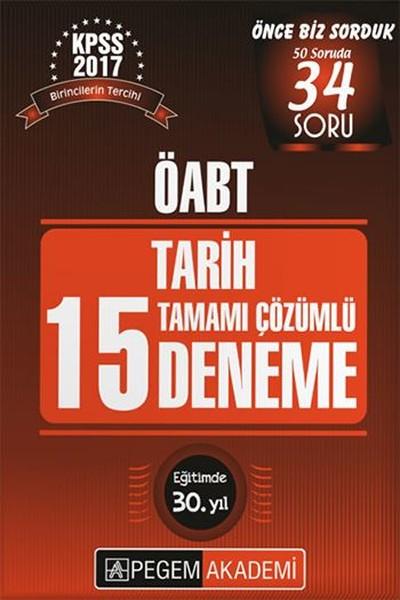 ÖABT Tarih 15 Deneme Tamamı Çözümlü Çıkmış 2017.pdf