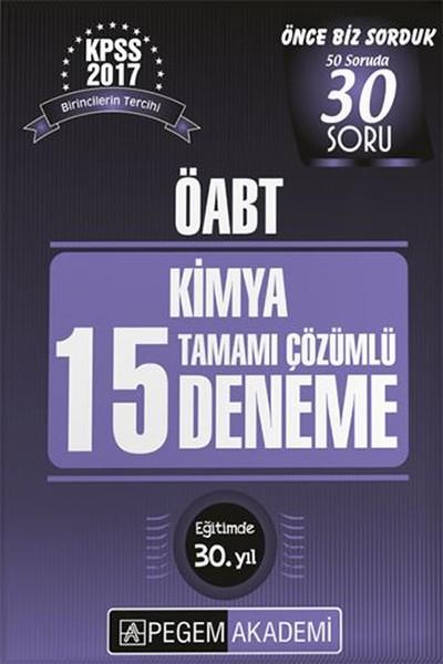 ÖABT Kimya 15 Deneme Tamamı Çözümlü Çıkmış 2017.pdf