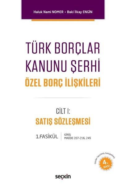Türk Borçlar Kanunu Şerhi Cilt 1.pdf