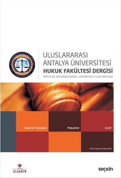 Antalya Ünv. Hukuk Fk. Sayı 8.pdf