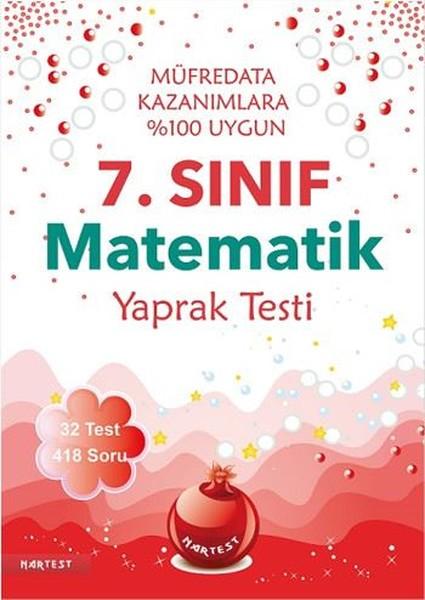 7. Sınıf Matematik Yaprak Testi.pdf
