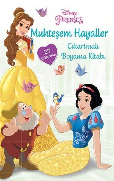 Disney Prenses-Muhteşem Hayaller Çıkartmalı Boyama Kitabı.pdf
