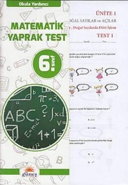 6. Sınıf Matematik Yaprak Test.pdf
