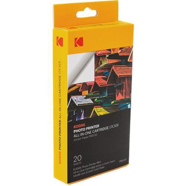 Kodak PMS 20 Mini Yazıcı için 20 Adet Yapışkanlı Kağıt...