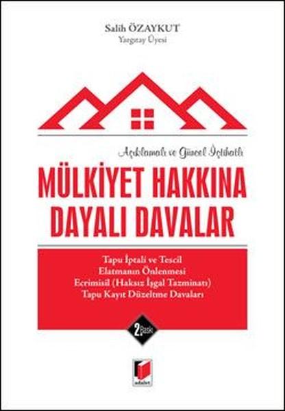 Mülkiyet Hakkına Dayalı Davalar.pdf