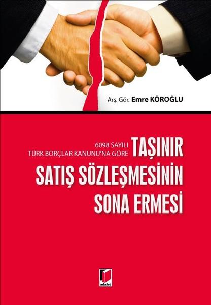 Taşınır Satış Sözleşmesinin Sona Ermesi.pdf
