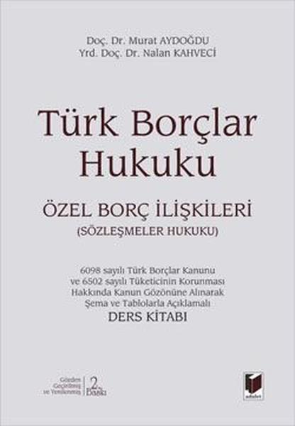Türk Borçlar Hukuku - Özel Borç İlişkileri.pdf