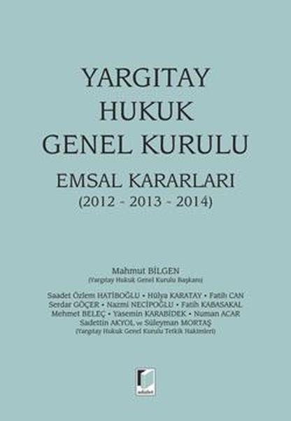 Yargıtay Hukuk Genel Kurulu Emsal Kararları.pdf