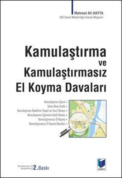 Kamulaştırma ve Kamulaştırmasız El Koyma Davaları.pdf
