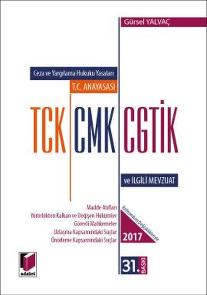 T.C. Anayasası TCK CMK CGTİK ve İlgili Mevzuat.pdf