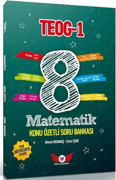 8. Sınıf TEOG 1 Matematik Konu Özetli Soru Bankası.pdf
