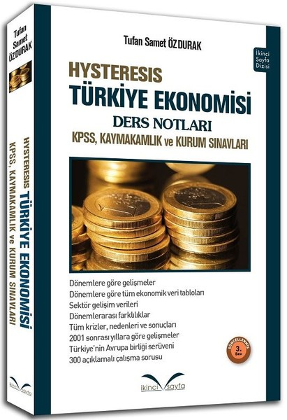 HYSTERESIS Türkiye Ekonomisi Ders Notları-KPSS, Kaymakamlık ve Kurum Sınavları.pdf