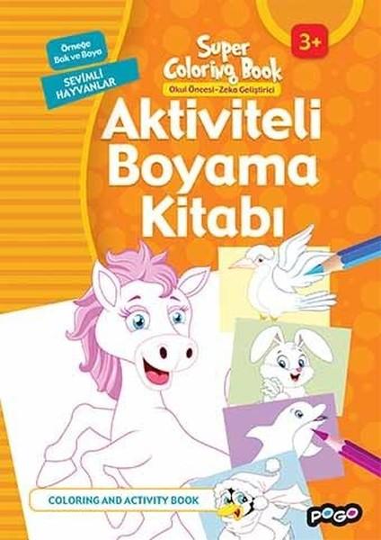 Aktiviteli Boyama Kitabi Sevimli Hayvanlar Kolektif Fiyati