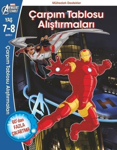 Marvel Avengers Assemble Çarpım Tablosu Alıştırmaları.pdf