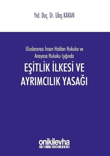 Eşitlik İlkesi ve Ayrımcılık Yasağı.pdf