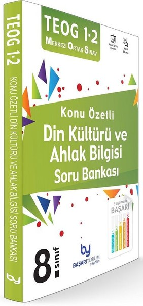 TEOG 1 2 8.Sınıf Konu Özetli Din Kültürü ve Ahlak Bilgisi Soru Bankası.pdf