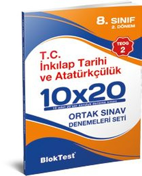 8.Sınıf TEOG 2 T.C. İnkılap Tarihi ve Atatürkçülük Ortak Sınav Denemeleri Seti.pdf