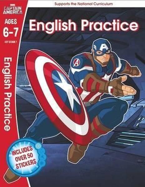 Marvel Learning: Captain America - English Practice.pdf