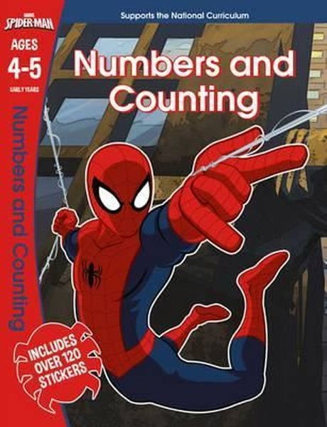 Marvel Learning: Spider-Man - Numbers and Counting.pdf