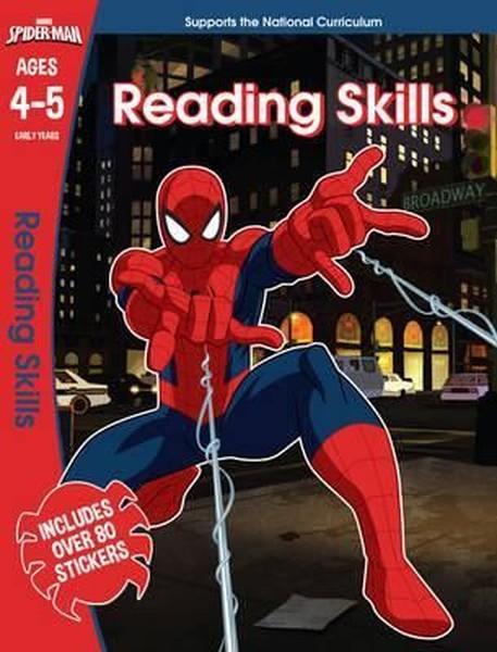 Marvel Learning: Spider-Man - Reading Skills.pdf