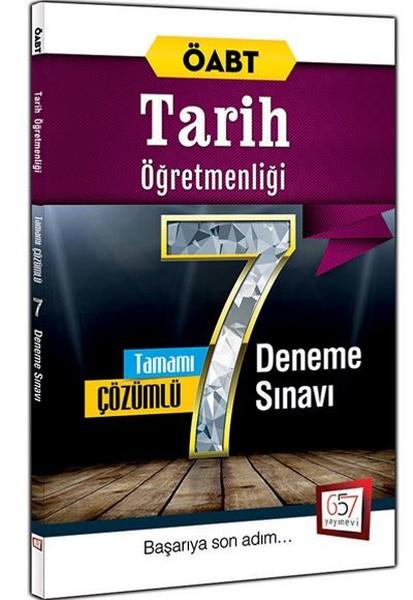 2016 ÖABT Tarih Öğretmenliği Tamamı Çözümlü 7 Deneme Sınavı.pdf
