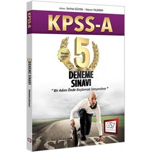 2017 KPSS A Grubu Tamamı Çözümlü 5 Deneme Sınavı.pdf