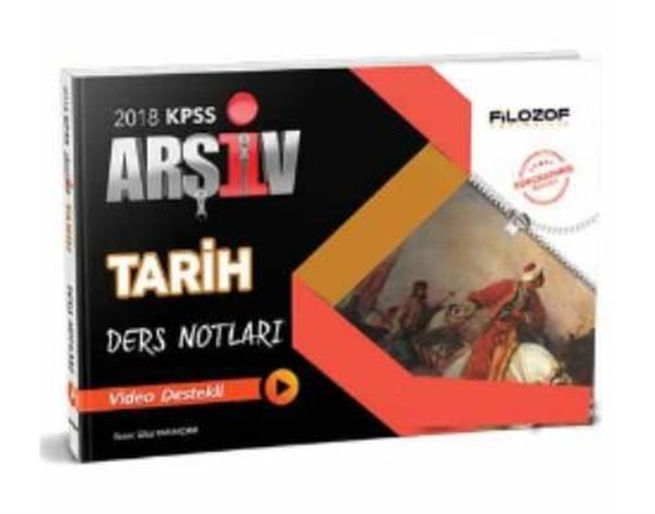 2018 KPSS Tarih Arşiv Ders Notları Video Destekli.pdf