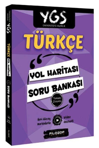 YGS Türkçe Yol Haritası Çözümlü Soru Bankası-Video Destekli.pdf