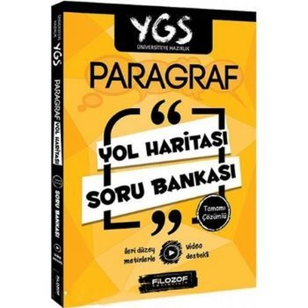 YGS Paragraf Yol Haritası Tamamı Çözümlü Soru Bankası.pdf