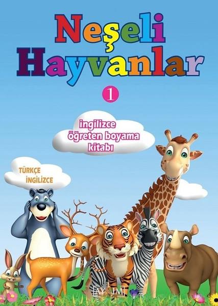 Neşeli Hayvanlar 1-İngilizce Öğreten Boyama Kitabı.pdf