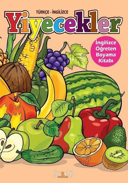 Yiyecekler-İngilizce Öğreten Boyama Kitabı.pdf