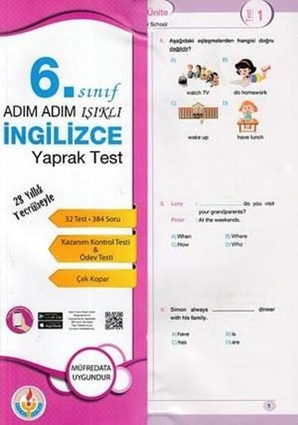 6.Sınıf İngilizce Yaprak Test.pdf