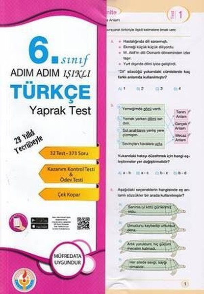 6.Sınıf Türkçe Yaprak Test.pdf