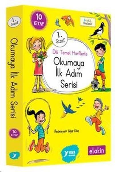 1.Sınıf Dik Temel Harflerle Okumaya İlk Adım Serisi-Yeni Ses Grupları 10 Kitap Takım.pdf