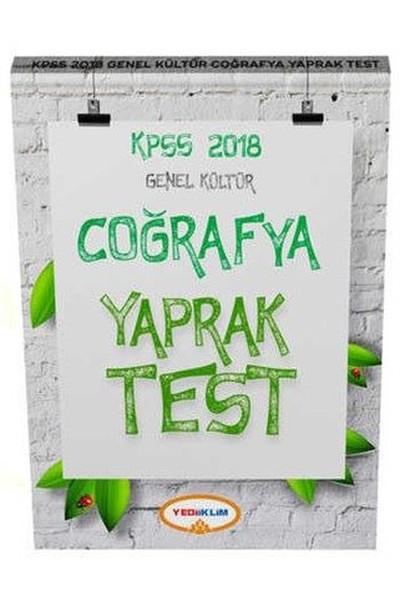 2018 KPSS Genel Kültür Coğrafya Yaprak Test.pdf