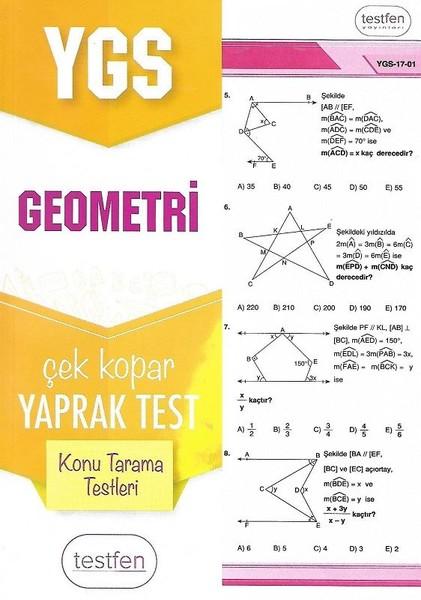 YGS Geometri Konu Tarama Yaprak Testleri.pdf