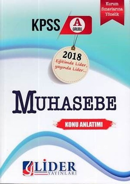 2018 KPSS A Muhasebe Konu Anlatımı.pdf
